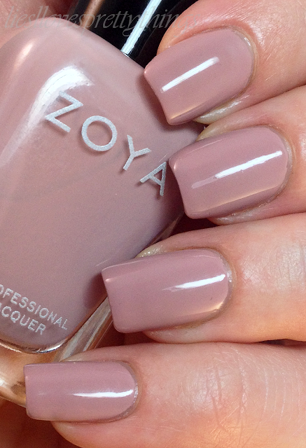 Zoya Rue swatch and review