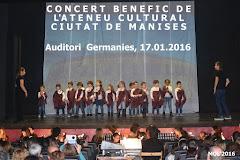 17.01.16 CONCERT BENEFIC DE L'ATENEU CULTURAL CIUTAT D MANISES, DUMENGE 12:30 H