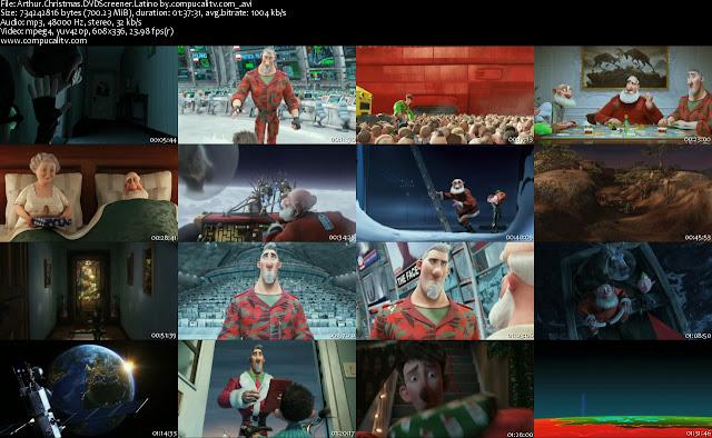 Arthur Christmas 2011 DVDScr Español Latino Descargar 1 Link