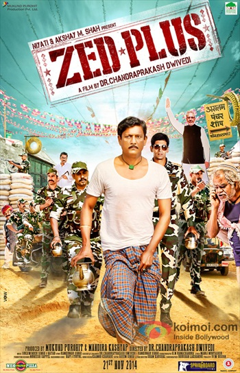 Zed Plus 2014 Hindi 480p HDRip 350mb