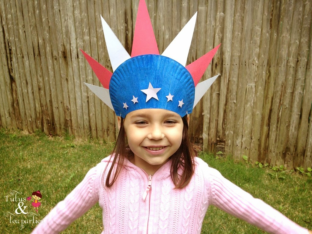 Kid 39 s crafts 4th of july think crafts by createforless for Craft hats for kids