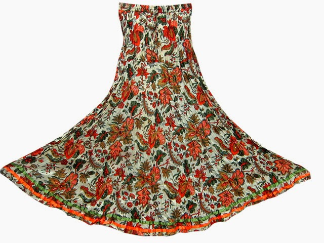 http://www.bonanza.com/listings/Boho-Trendy-Long-Skirt-Orange-Green-Floral-Print-Sequin-Work-Gypsy-Maxi-Skirts/184086745