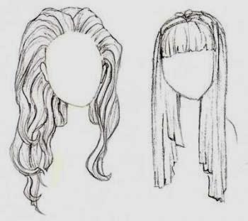 Como Desenhar Cabelos (Passo a Passo)