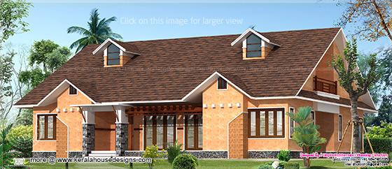 Mud house elevation
