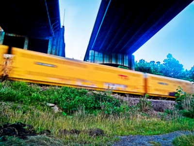 Blair Menace, asheville, graffiti, asheville graffiti, train, train graffiti