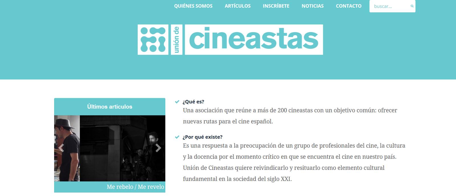 http://uniondecineastas.es/