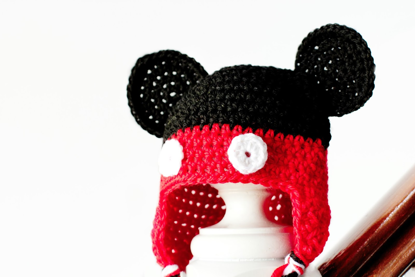 Knitting Patterns Free Hat Mickey Mouse Joy Studio Design Gallery - Best De...