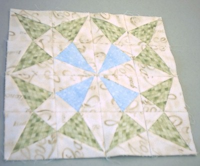 Kari S Crafts Golden Wedding Ring Quilt
