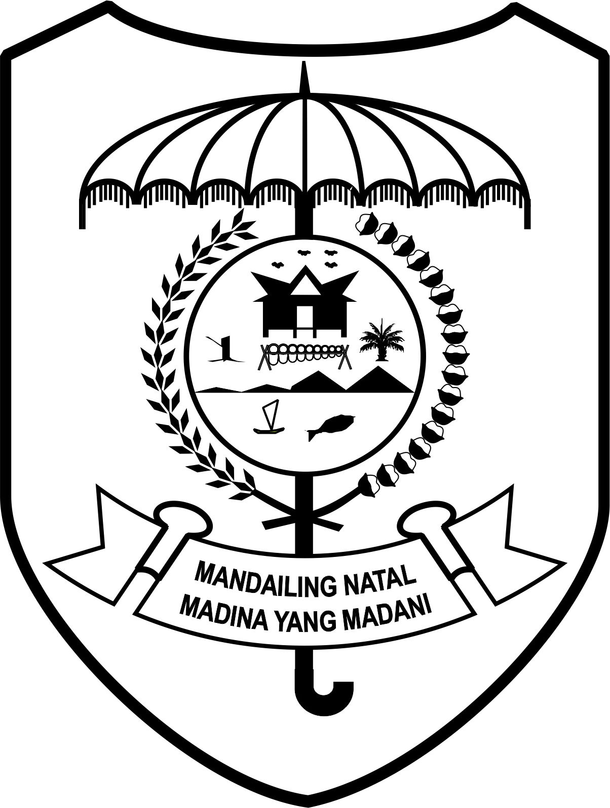 anekawarnagrafika logo polres madina
