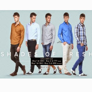 Zovi : Zovi Shirts Set of 2 from Rs. 510 (Elite Members) or Rs. 537