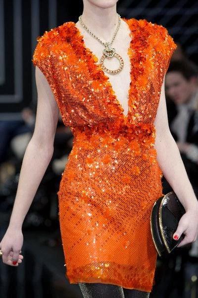 Jenny Packham Fall 2010 - Amazing orange dress
