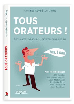 Clod illustration couverture livre tous orateurs ! Éditions Eyrolles