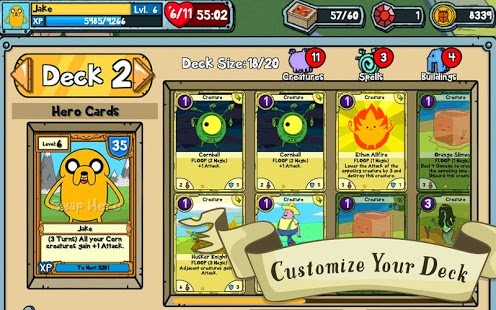 Card Wars - Adventure Time Android