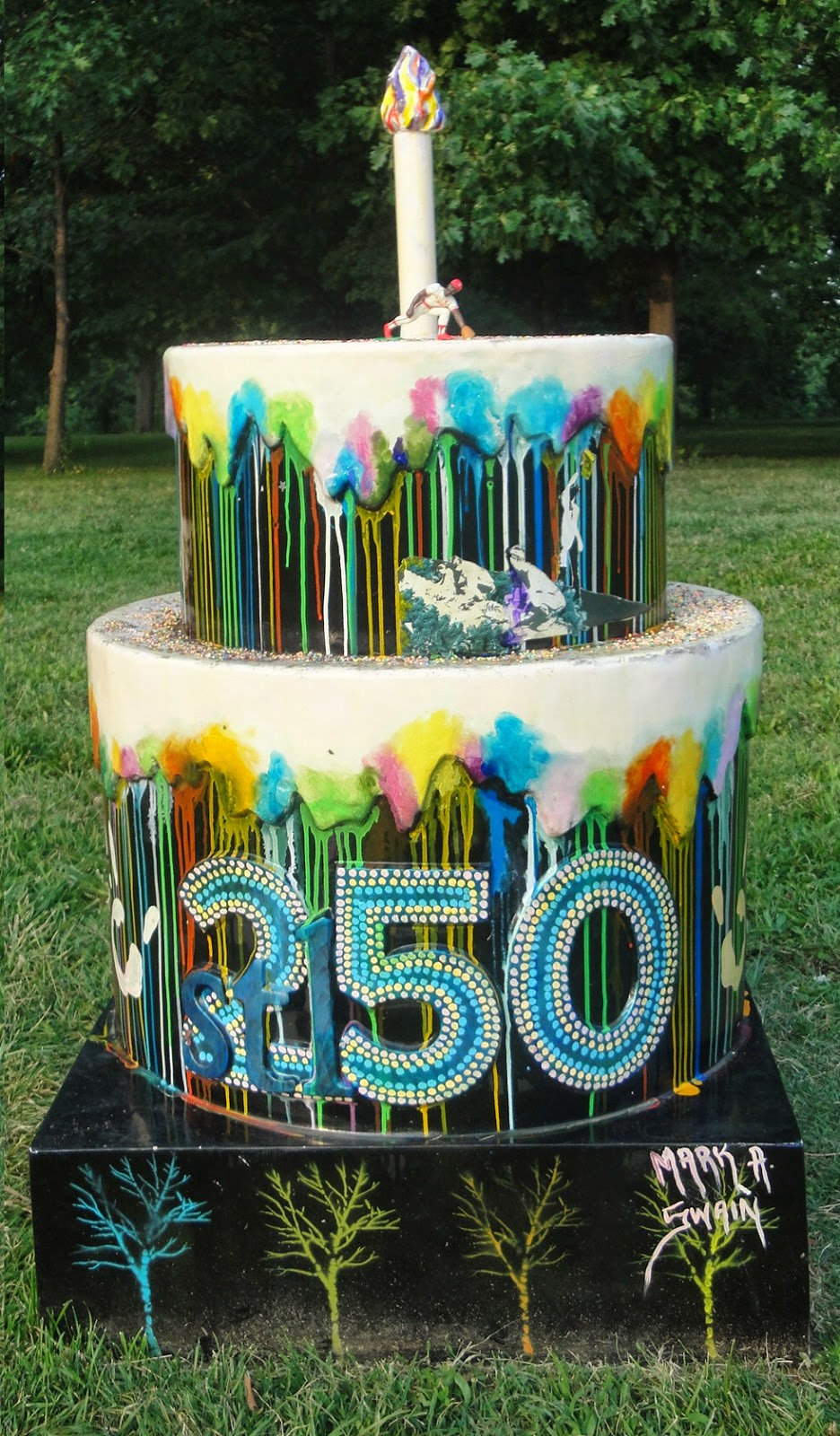 St Louis 250 Years 250 Cakes Here we go 185 Carondelet Park