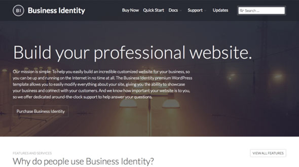 Free Download Creative Market Business IdentityV3.0.2 WordPress Theme