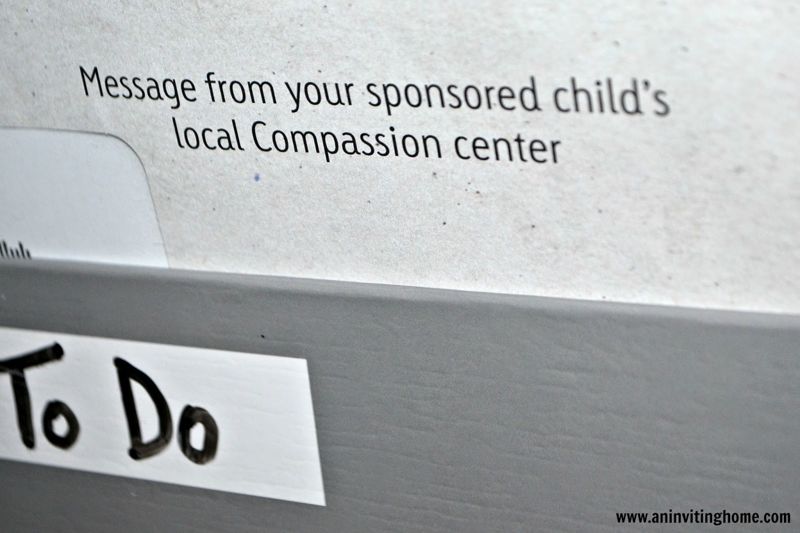 sponsor a child through compassion international