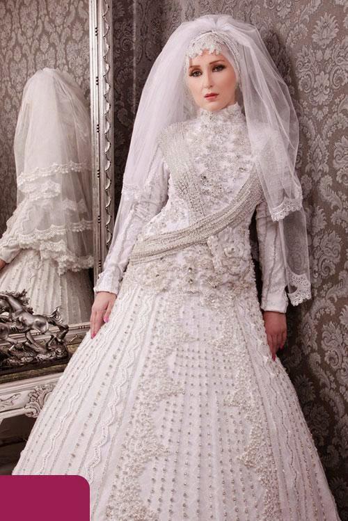 Robe de mariee avec hijab