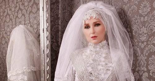 Hijab chic - Robe de mariee avec hijab ~ Hijab et voile mode style ...