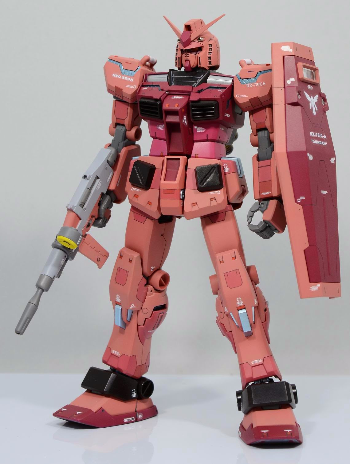 RX-78 CA Modeled by zhe85