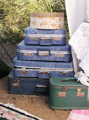 "Snippets of ""Glamping"" luggage"
