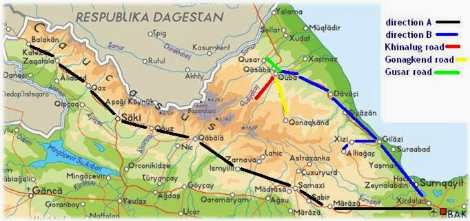 Baku travel tips and advices Roads of Azerbaijan Part 1 North