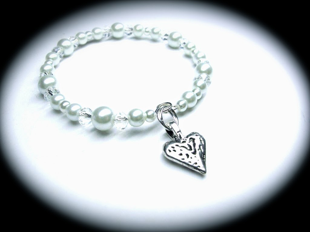 bridal charm bracelet