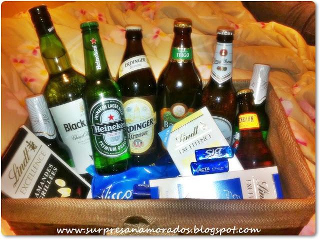 kit de cervejas importadas para namorado