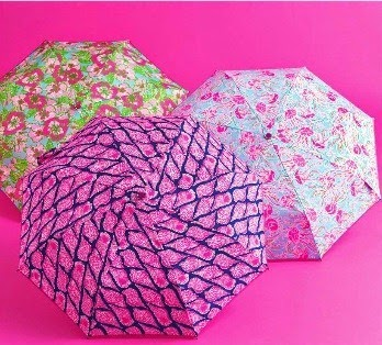 lilly pulitzer umbrella lifeguard press