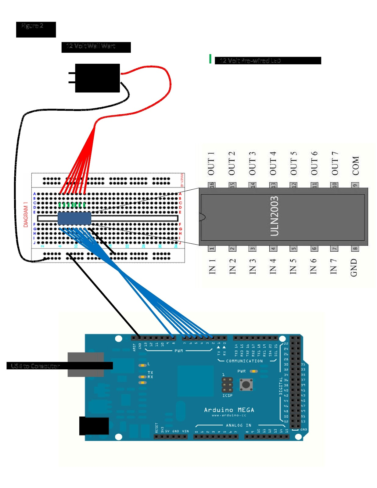 Arduino mega 2560 schematic diagram