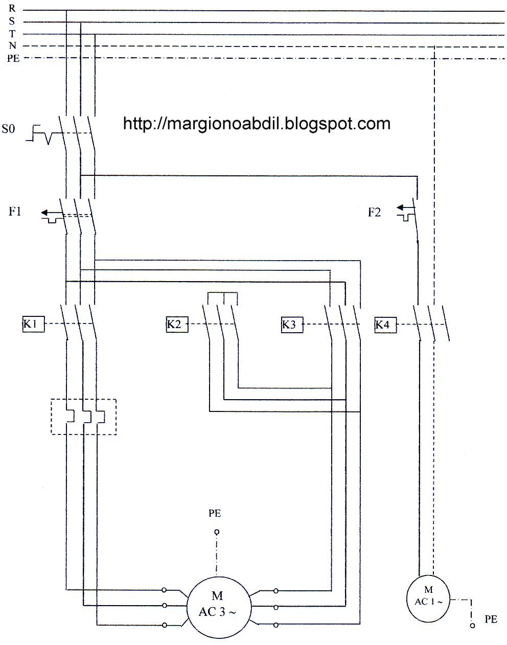 Wiring Diagram Panel Kontrol : Teknik vokasi perakitan panel kontrol motor pompa air