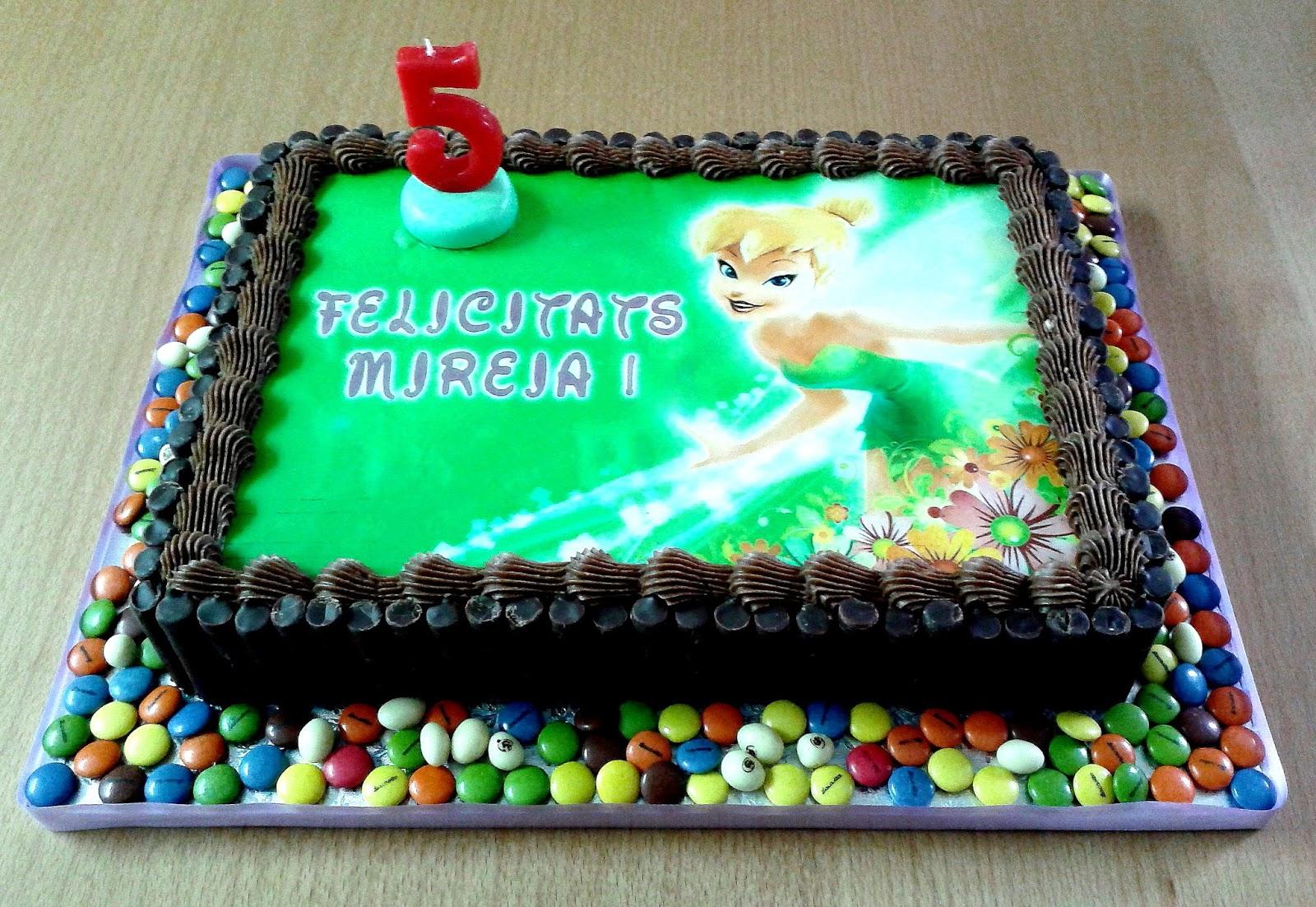 Galetinas Nas: Tarta Campanilla - Tinkerbell Cake