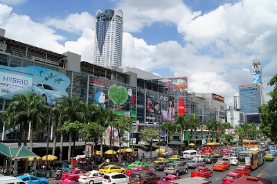 Central World shopping mall in Thailand
