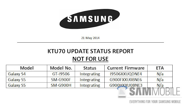 Samsung Android 4.4.3 Kitkat