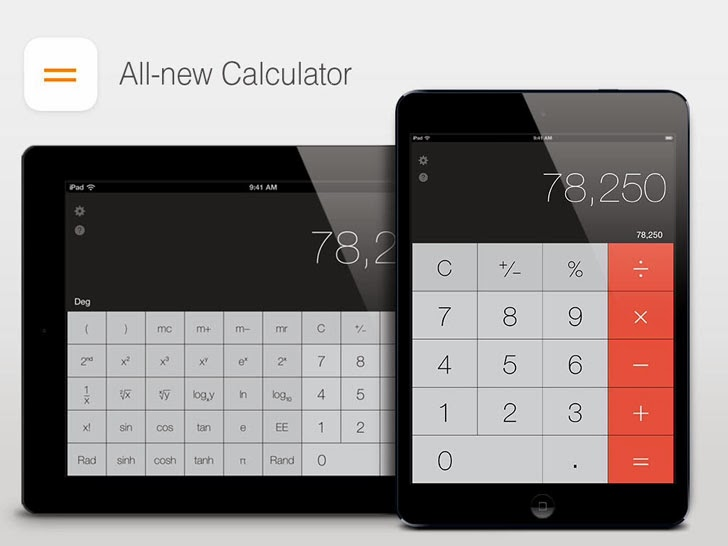Calculator - All - New And Refined, Yet Instantly Familiar App iTunes App By Tap Nation - FreeApps.ws