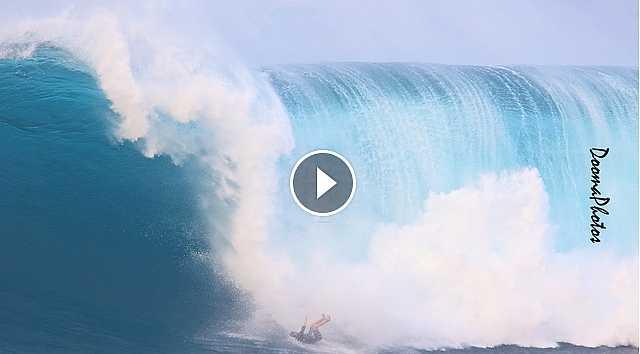 XXL Wipeouts Peahi Jaws Maui 2016 SONY 4K