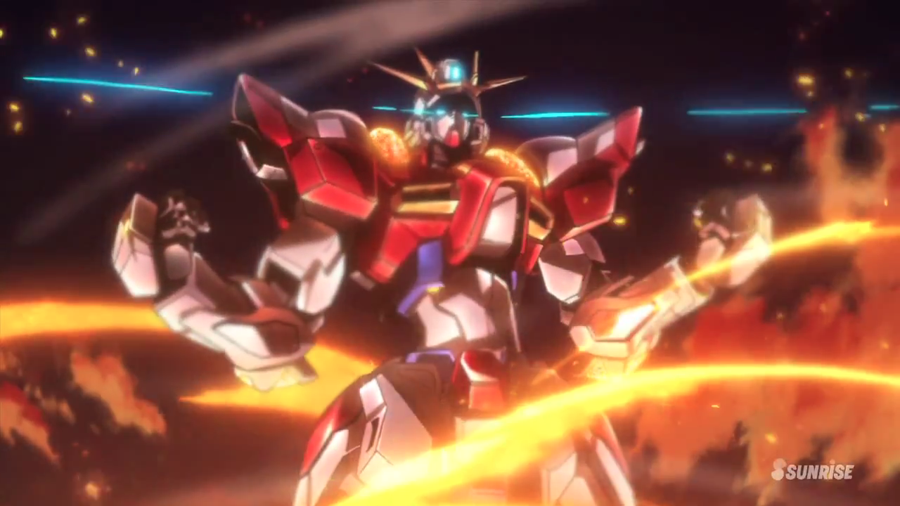 My shiny toy robots first impressions gundam build for Domon kasshu build fighters try