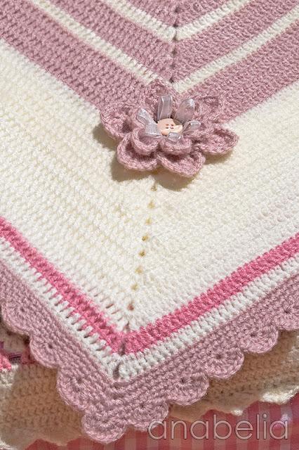 Baby blanket Sara by Anabelia