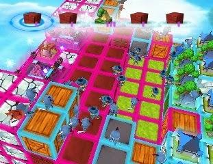 Cube Tactics Nintendo 3DS