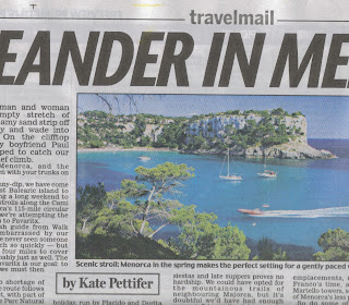 Minorca newspaper clipping