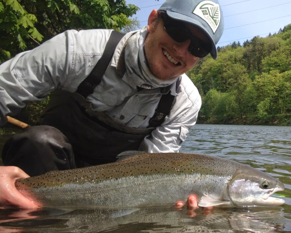 Clackamas steelhead for Clackamas river fishing