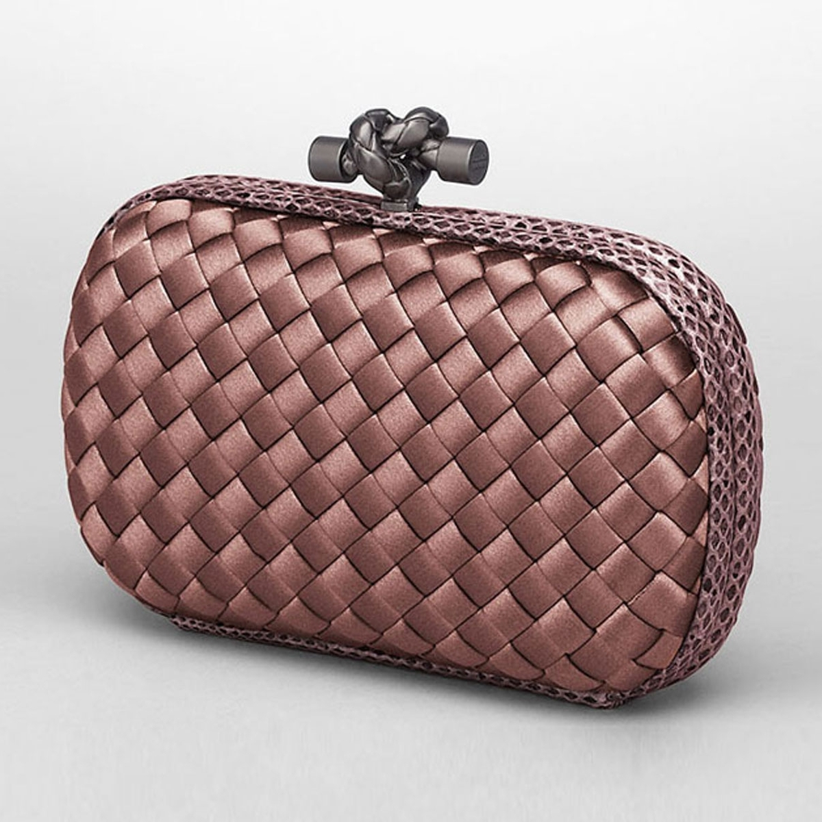 Bottega Veneta Intrec Knot Clutch