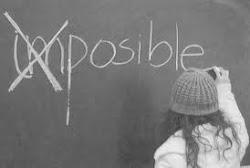 Los imposibles tambien existen...