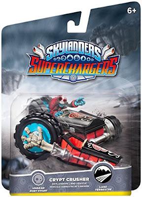 TOYS : JUGUETES - Skylanders SuperChargers  Crypt Crusher | Vehículo de Fiesta  Producto Oficial | Videojuego | Activicion 2015 | A partir de 6 años  Comprar en Amazon España & buy Amazon USA