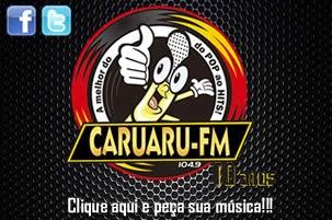 ouvir a Rádio Caruaru FM 104,9 Caruaru PE