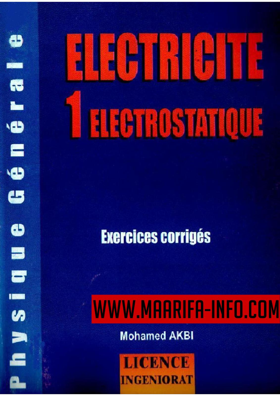 Électricité 1 Electrostatique