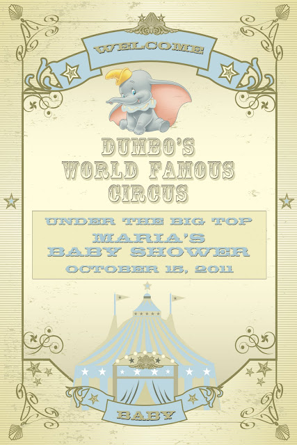 ever clever mom a dumbo themed baby shower