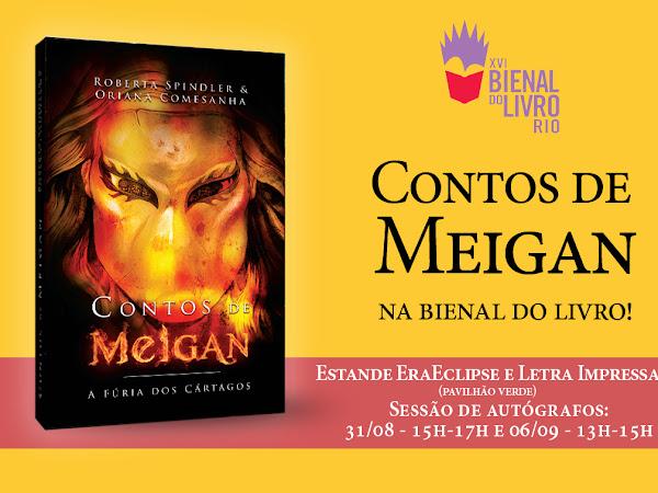 Contos de Meigan na Bienal do Livro do Rio