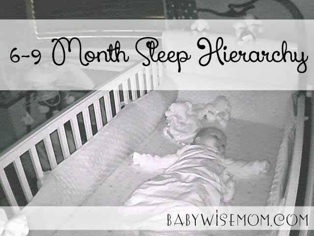 Sleep Hierarchy: 6-9 Months