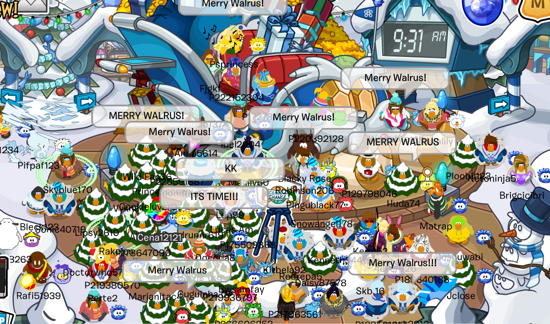Club Penguin Merry Walrus