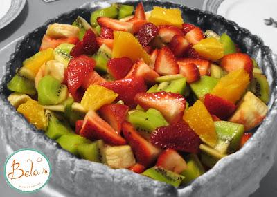 Charlotte de frutas frescas